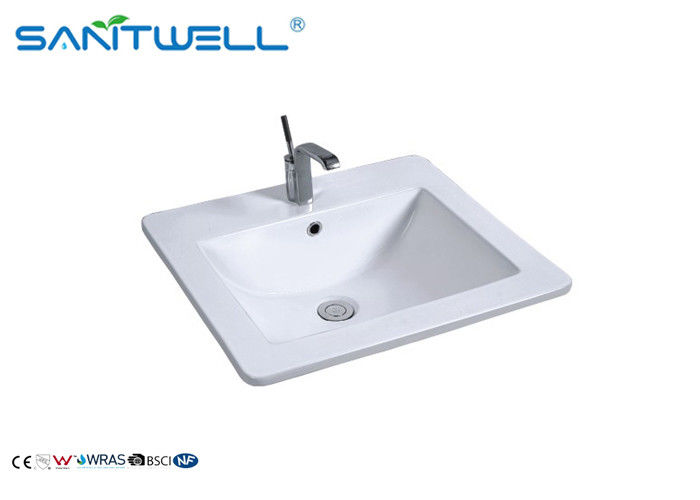 Vanity Unit Rectangular Counter Top Wash Basin AB8003-53 530×460×170 Mm